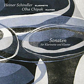 Schnyder, Rota, Poulenc, Bernstein & Horovitz: Clarinet Sonatas by Heiner Schindler