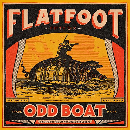 Odd Boat by Flatfoot 56
