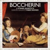 Boccherini: 3 String Quintets by Europa Galante Fabio Biondi