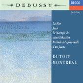 Debussy: La Mer; Jeux; Prélude à l'après-midi d'un faune; Le Martyre de Saint Sébastien (Symphonic Fragments) by Charles Dutoit