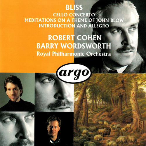 Bliss: Cello Concerto; Meditations On A Theme Of John Blow; Introduction And Allegro by Barry Wordsworth