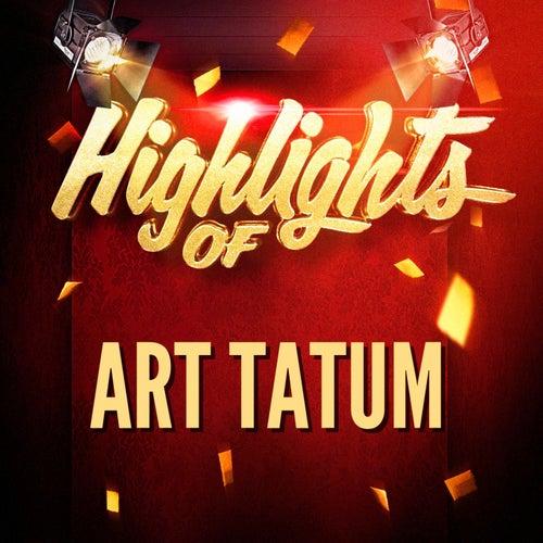 Highlights of Art Tatum by Harold Arlen