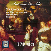 Vivaldi: 6 Concertos for Solo Instruments, Strings & Continuo by Various Artists