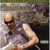 Hi Power Collectables Presents: Mr. Criminal - Love Letters by Mr. Criminal