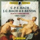 C.P.E. Bach, J.C. Bach & Benda: Flute Concertos von Various Artists