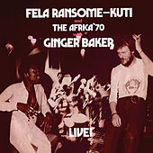 Live with Ginger Baker by Ginger Baker
