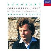Schubert: 4 Impromptus; 3 Piano Pieces; 12 German Dances; Allegretto de András Schiff