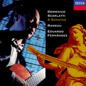 Scarlatti: 9 Sonatas / Rameau: Premier livre de pieces de clavecin (excerpts) by EDUARDO FERNÁNDEZ