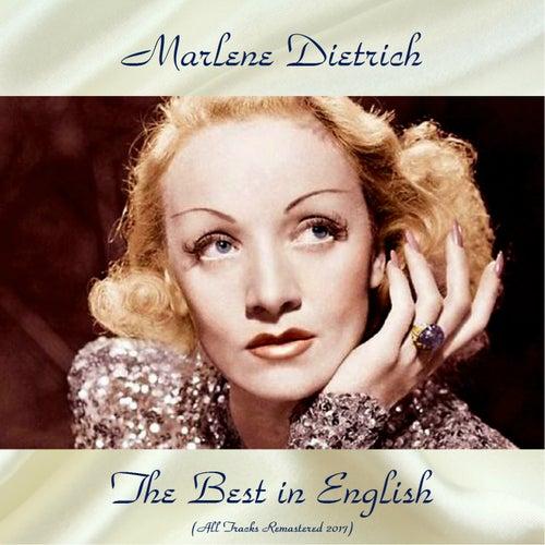 The Best in English (All Tracks Remastered 2017) von Marlene Dietrich