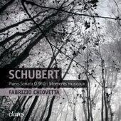 Schubert: Piano Sonata, D. 960 - Moments musicaux, D. 780 by Fabrizio Chiovetta