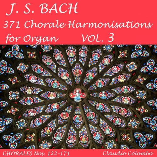 J.S. Bach: 371 Chorale Harmonisations for Organ, Vol. 3 de Claudio Colombo
