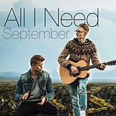 All I Need von September