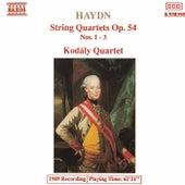 String Quartets Op. 54, Nos. 1 - 3 by Franz Joseph Haydn