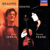 Brahms: Violin Sonatas Nos. 1-3 de Peter Serkin