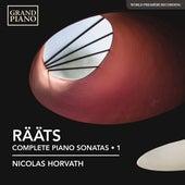 Rääts: Complete Piano Sonatas, Vol. 1 von Nicolas Horvath