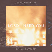 Lord I Need You (Live) by Lou Fellingham