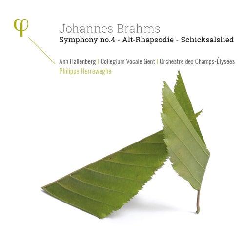 Brahms: Symphonies No. 4, Alto Rhapsody & Schicksalslied by Various Artists