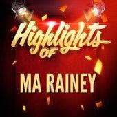 Highlights of Ma Rainey de Ma Rainey