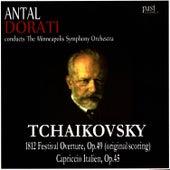 Tchaikovsky: 1812 Festival Overture, Capriccio Italien by Minneapolis Symphony Orchestra