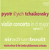 Tchaikovsky: Violin Concerto in D Major, Op. 35 by Mischa Elman