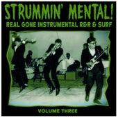 Strummin´ Mental Vol.3. Real Gone Instrumental R&R & Surf de Various Artists