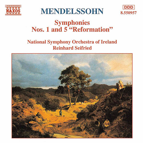 Symphonies Nos. 1 and 5 'Reformation' by Felix Mendelssohn
