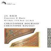 Bach, J.S., W.F., C.P.E & J.C.: Works for Two Harpsichords von Christophe Rousset