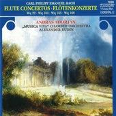 C.P.E. Bach: Flute Concertos von András Adorján