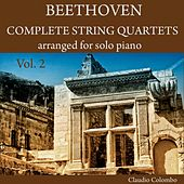 Beethoven: Complete String Quartets arranged for solo Piano, Vol. 2 by Claudio Colombo