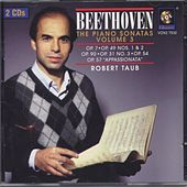 Beethoven: The Piano Sonatas Volume Iii by Robert Taub
