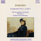 Symphonies Nos. 1, 2, and 3 by Alexander Borodin