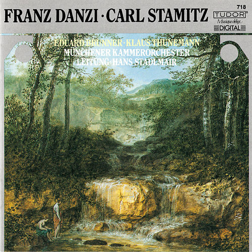 Danzi & Stamitz: Music for Clarinet, Bassoon & Orchestra by Eduard Brunner