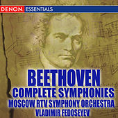 Beethoven: Complete Symphonies featuring the Moscow RTV Symphony Orchestra by Various Artists