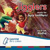 Jigglers - Music For Busy Toddlers de Various Artists