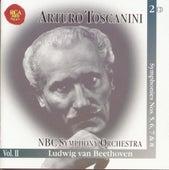Symphonies Nos. 5, 6, 7 & 8 by Arturo Toscanini