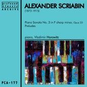 Alexander Scriabin by Vladimir Horowitz