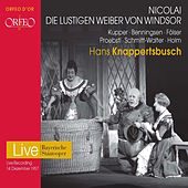 Nicolai: Die lustigen Weiber von Windsor (The Merry Wives of Windsor) by Various Artists