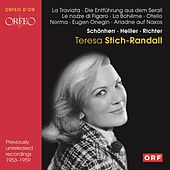 Teresa Stich-Randall: Recordings 1953-1959 by Various Artists