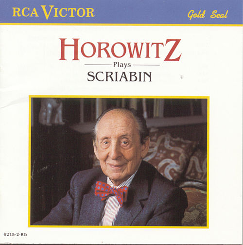 Horowitz Plays Scriabin by Alexander Scriabin