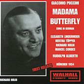 Puccini: Madama Butterfly (Madame Butterfuly) [Sung in German] [Recorded 1954] von Various Artists