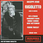 Rigoletto (Sung in German) [Recorded 1950] von Various Artists