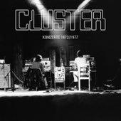 Konzerte 1972 / 1977 (Live) von Cluster