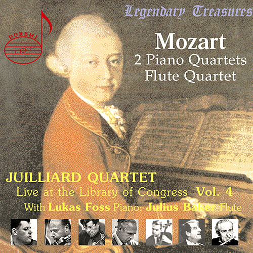 Juilliard Quartet, Vol. 4: Live at Library of Congress – Mozart Quartets by Juilliard String Quartet