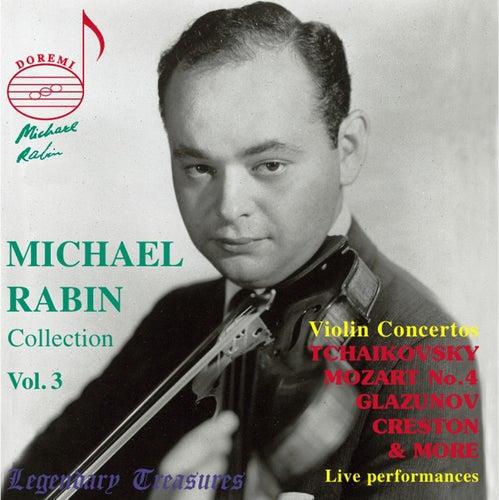 Michael Rabin, Vol. 3: Mozart & Tchaikovsky Concertos (Live) von Michael Rabin