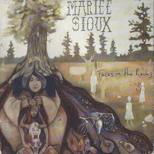 Faces in the Rocks by Mariee Sioux