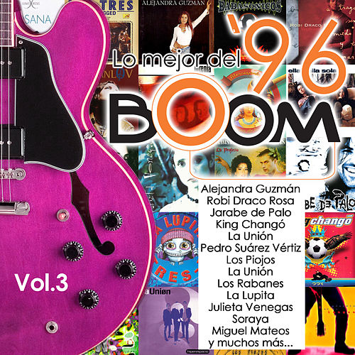 Boom: Lo Mejor del '96, Vol. 3 de Various Artists