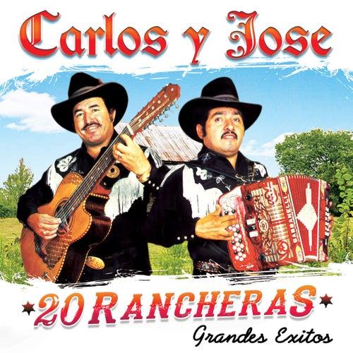 20 Rancheras 'Grandes Exitos' by Carlos Y Jose