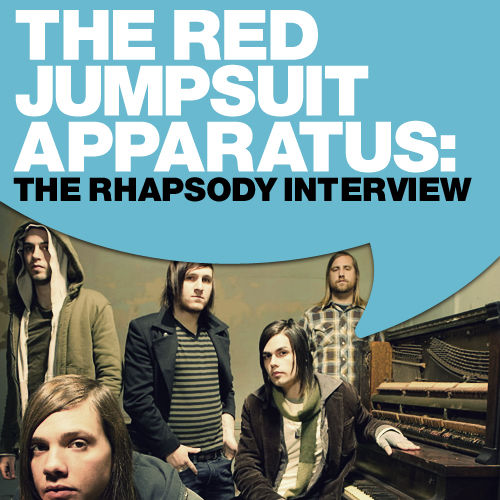 The Red Jumpsuit Apparatus: The Rhapsody Interview by The Red Jumpsuit Apparatus
