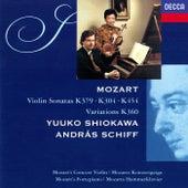 Mozart: Violin Sonatas de András Schiff