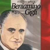 Italian Songs de Beniamino Gigli